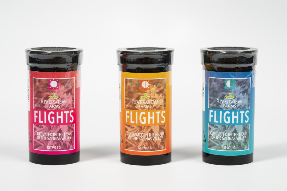 Flights Containers Sativa Hybrid Indica