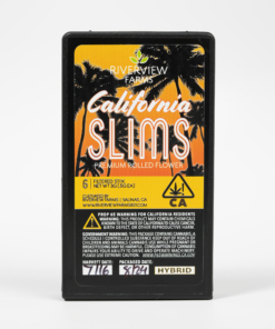 California Slims Yellow Hybrid Pre-Roll Pack