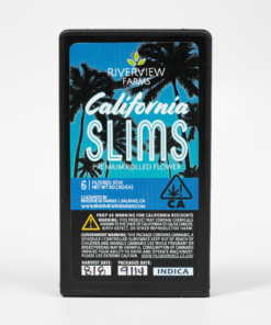 California Slims Blue Indica Pre-Roll Pack
